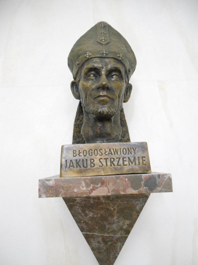 Popiersie bł. jakuba Stzremię
