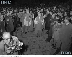 Bp. K. Wojtyła w Lubaczowie