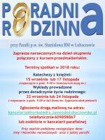 Kurs przedmałżeński dla narzeczonych w Parafii św. Stanisława w Lubaczowie