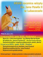 28. rocznica wizyta św. Jana Pawła II w Lubaczowie