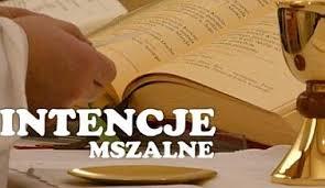 Intencje Mszy św. 29.03.-2.04.2020 r.