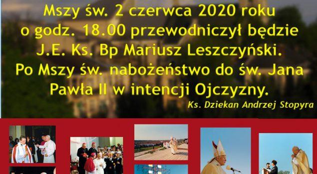 XXIX Rocznica wizyty św. Jana Pawła II w Lubaczowie.