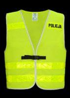 Komunikat Policji kierowany do pieszych.