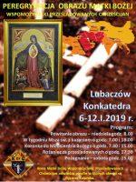 Ikona Matki Bożej Wspomożycielki Prześladowanych Chrześcijan w  lubaczowskiej konkatedrze.