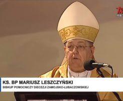 Kazanie ks. Biskupa Mariusza Leszczyńskiego wygłoszone w dniu 1 kwietnia 2019 r. w Lubaczowie