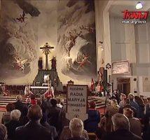 Transmisja w Telewizji TRWAM z  Uroczystości ku czci Matki Bożej Łaskawej w Lubaczowie z dnia 1.04.2019 r..