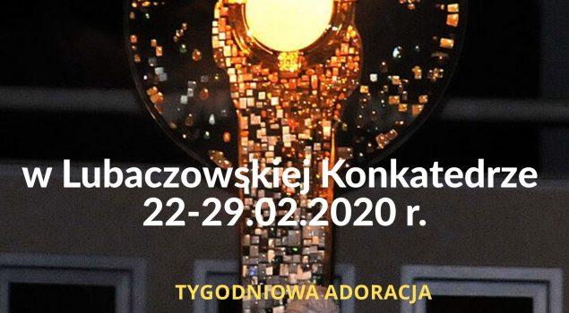 Jerycho 2020 – Program Adoracji, intencje