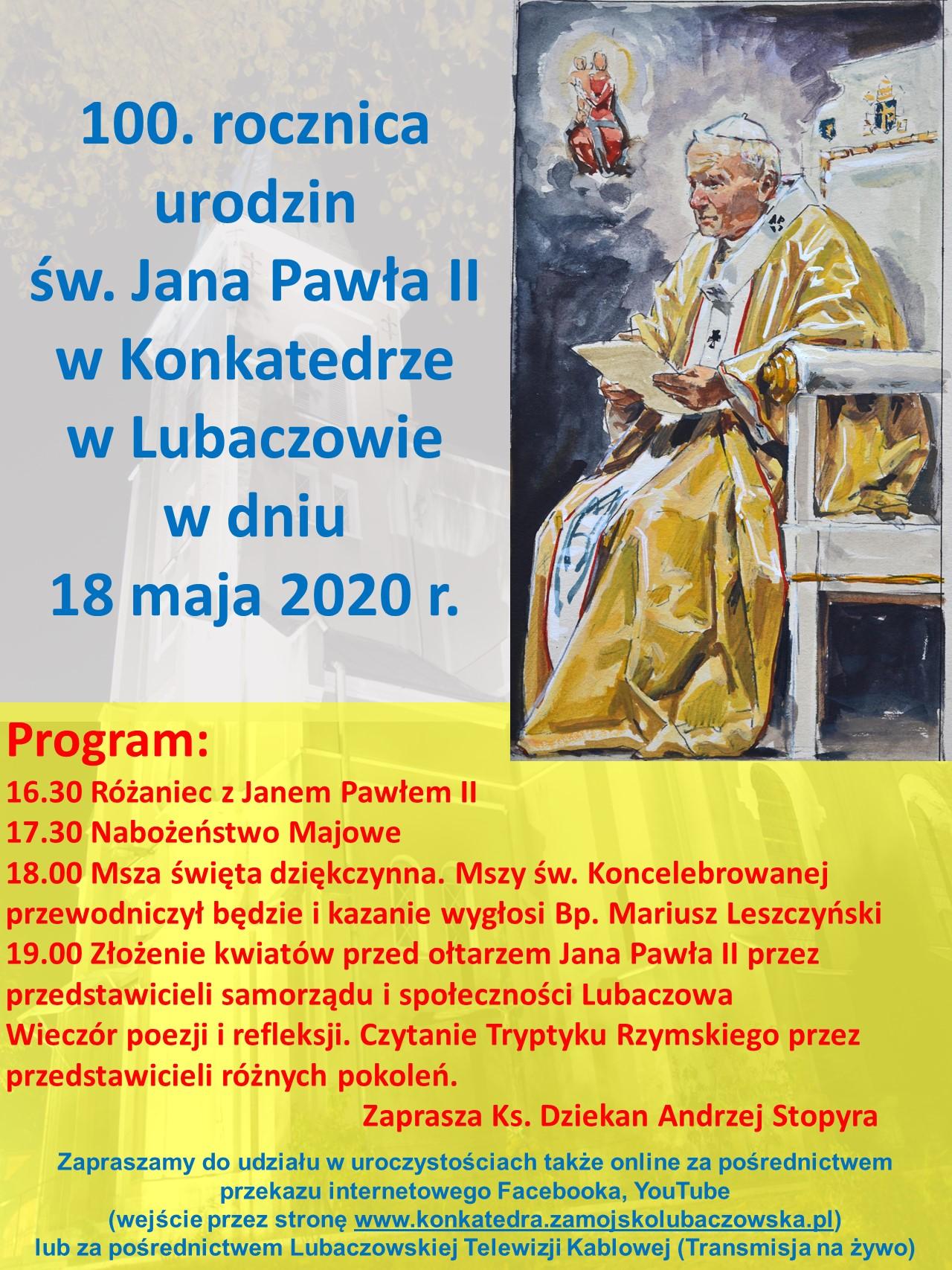 100. urodzin Jana Pawła II